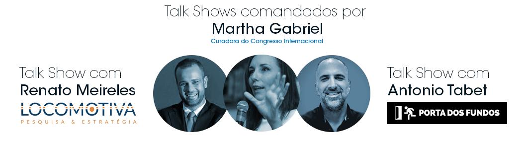 Curadoria e Participação Especial - Martha Gabriel
