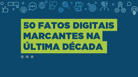 INFOGRÁFICO | 50 fatos digitais marcantes na última década + Bônus 2020