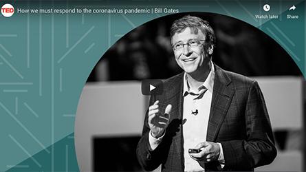 Como nós devemos responder a pandemia de coronavírus, segundo Bill Gates