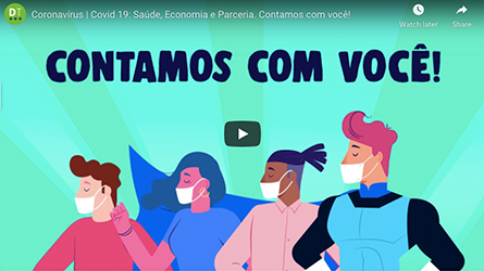 Saúde, Economia e Parceria | #putztamojunto