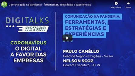 Comunicação na pandemia - ferramentas, estratégias e experiências