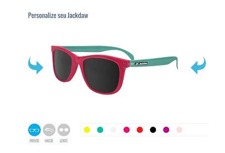 Marca oferece personalização de óculos de sol pela internet - Digitalks fc7f141e6d