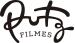 logo da putz filmes com a palavra putz em letra cursiva e filmes em letra de mão. Ambas na cor preta. A palavra filmes está em baixo da palavra putz. Fundo branco.